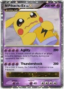 Pikachu Ex Pokemon M