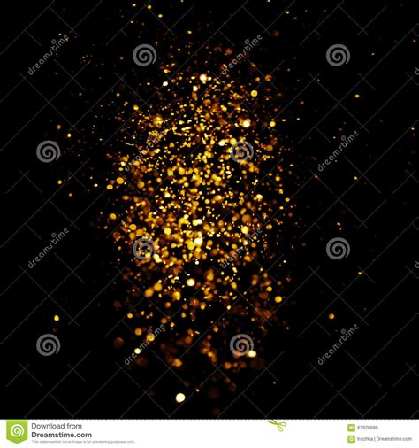 black and gold christmas lights glitter vintage lights background dark gold and black christmas card stock photo image 63928686