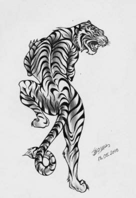 White tiger traditional tattoo | Arm tattoos tiger