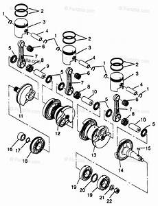 Polaris Watercraft 1996 Oem Parts Diagram For Crankshaft