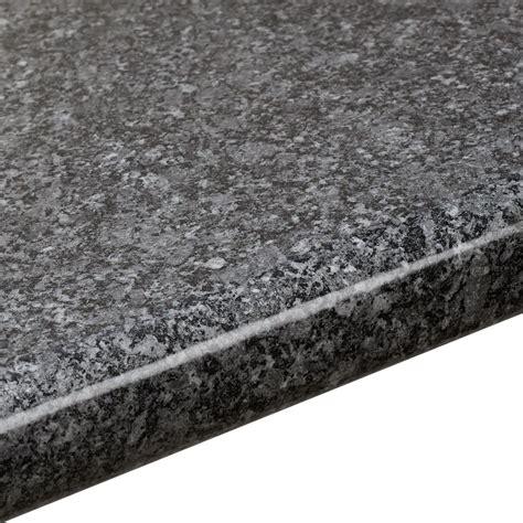 mm bq black gloss quartz effect  edge worktop lm dmm departments diy  bq