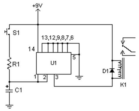 Time Delay Relay Circuit Diagram Instructions