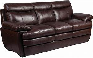 Marty genuine leather sofa brown the brick for Genuine leather sofa