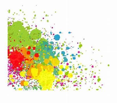 Splash Paint Clipart Clip Splat Painting Cliparts