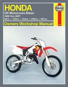 Haynes M2222 Repair Manual For 1986  Cr125r