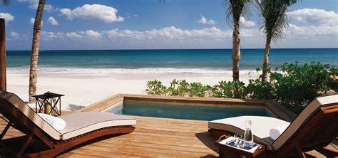 bedroom luxury beachfront homes  sale mayakoba