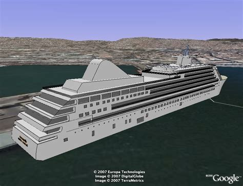 Track Cruise Ships In 3D In Google Earth - Google Earth Blog