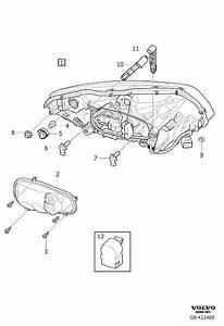 Volvo Xc60 Headlight Bulb Cap  Right   Cover  Active Gas