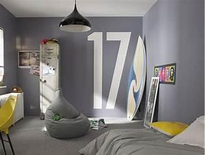 decoration 9 idees de chambres d39enfant habitatpresto With idee peinture chambre ado