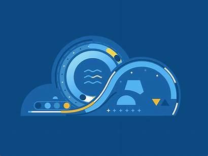 Cloud Data Analytics Devops Ecr Dribbble Computing