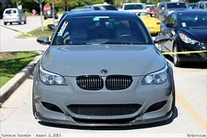 Grey E60 Bmw M5
