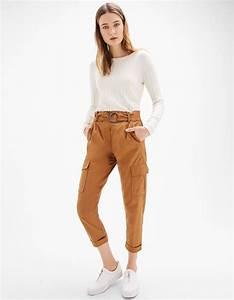 Tenue Printemps Femme : pantalons pour femme bershka printemps t 2017 pants trousers women trousers et pants ~ Melissatoandfro.com Idées de Décoration