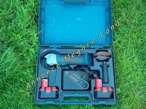 Meuleuse Bosch Sans Fil : meuleuse barbeuse sans fil bosch gws 14 4v negoce land com ~ Melissatoandfro.com Idées de Décoration