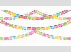 Paper Papel picado Party Banner Clip art fiesta 1920