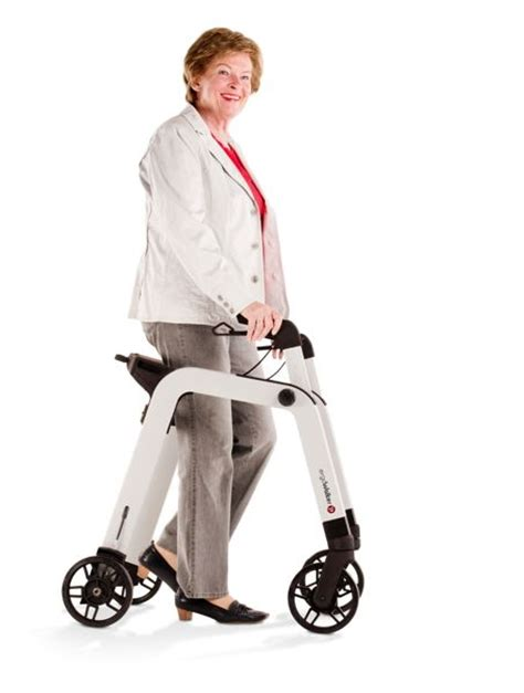 rollator aids mobility electric zum ziehen scooter medical hk2 project place carbon fiber