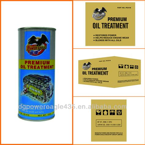 A 3d mockup with a plastic bottle and soft sh. Pe Super Engine Oil Additive Premium Oil Treatment - Buy ...