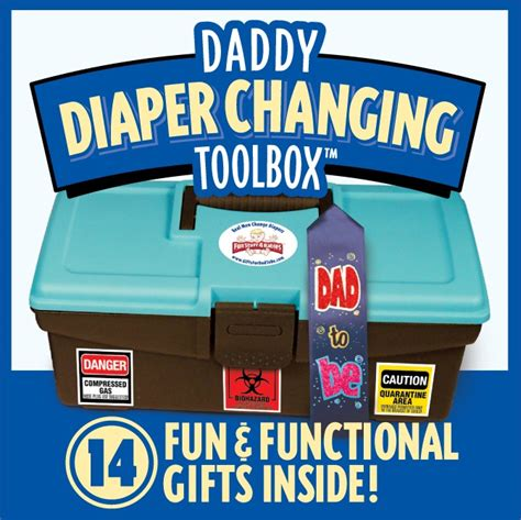 fun stuff  babies daddy diaper changing toolbox momstart