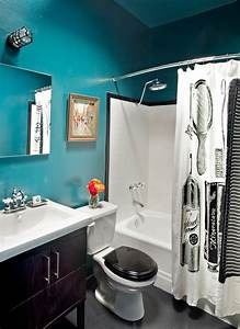 accent colors black and white bathroom pinterest With black and white bathroom accent color