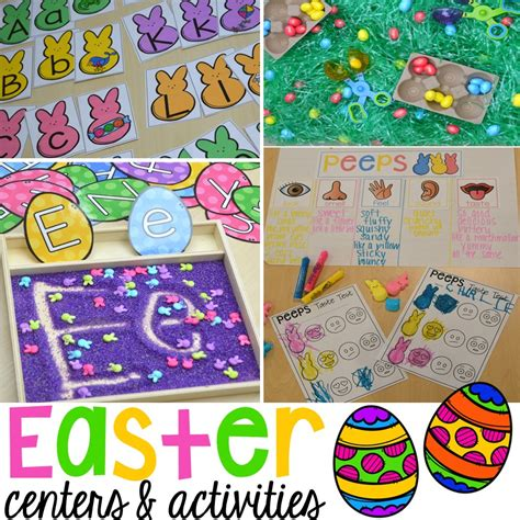 easter centers and activities for learners peep 936 | Slide47