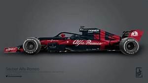 Alfa Romeo F1 : alfa romeo sauber f1 2018 livrea ipotesi foto 10 19 derapate ~ Medecine-chirurgie-esthetiques.com Avis de Voitures