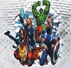 Online Get Cheap Avengers Wall Mural