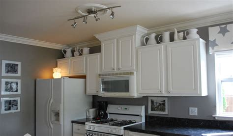 With White Kitchen Cabinet And Ceiling Paint Color, You