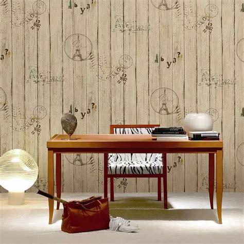 Decorer Un Mur Interieur by Papier Peint Imitation Lambris En Pvc 224 Effet 3d Pour