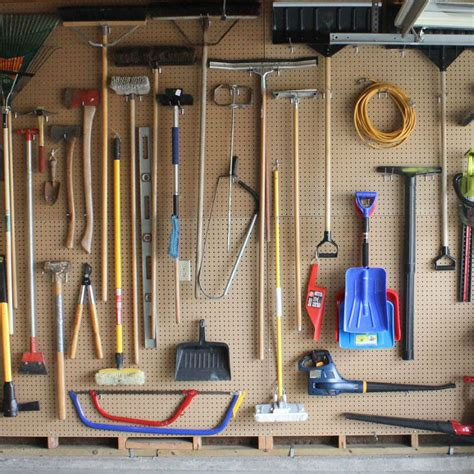 garage peg board 9 miraculous tips to save your garage