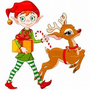 Animated Christmas Elves Clipart - Clipart Suggest