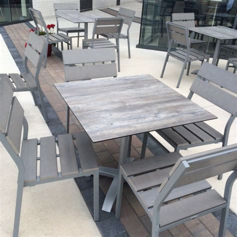 tribeca driftwood laminate outdoor commercial table top 24