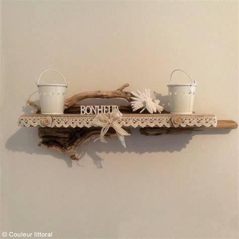 idee decoration murale pour cuisine diy etagère déco en bois flotté idées et conseils décoration