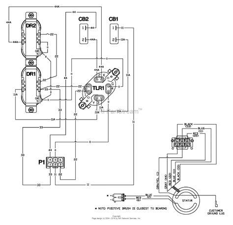 2006 wiring diagram troy bilt lawn tractor