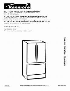 Kenmore 79577302600 User Manual Refrigerator Manuals And
