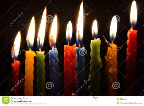 bougies allum 233 es images stock image 22595584