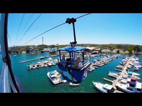Bayside Skyride Seaworld San Diego Youtube