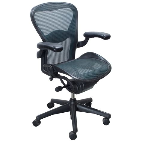 herman miller aeron used size b task chair tourmaline