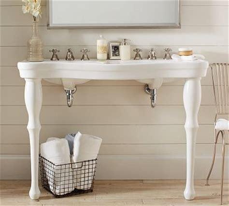 pedestal double sink console parisian pedestal double sink console traditional