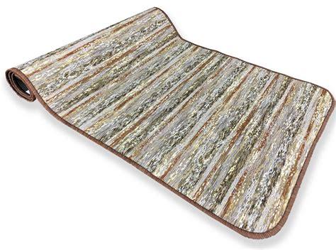 tappeti per cucina antiscivolo tappeto cucina gommato antiscivolo stripe marrone misura