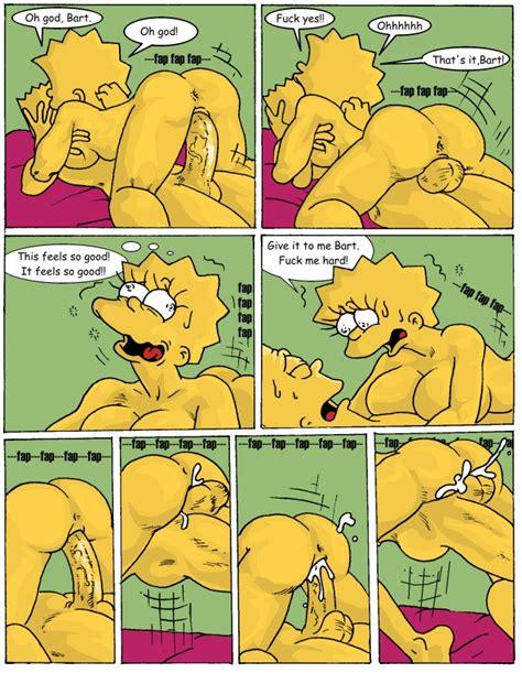 Rule 34 Bart Simpson Comic Female Human Lisa Simpson