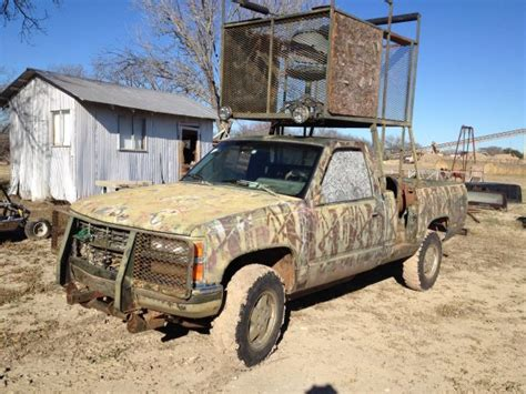 hunting truck for sale high rack hunting trucks for sale