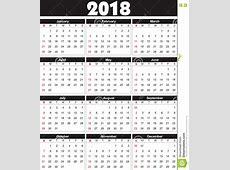 El Calendario 2018 Adentro Se Puede Convertir En Cualquier