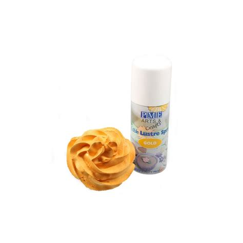 pate a sucre dore spray colorant alimentaire nacr 233 dor 233 pme 100 ml spray comestible p 226 te a sucre fr