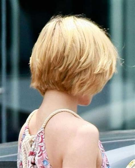 short layered hairstyles  stacked  hair