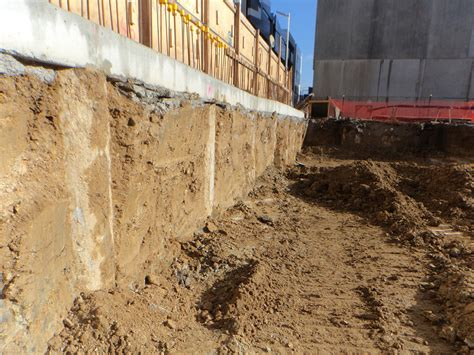 Design Of Basement Retaining Wall by Retaining Walls Ground Anchors And Soil Nailing Design
