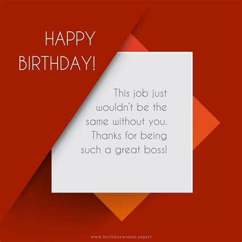professionally  happy birthday wishes   boss