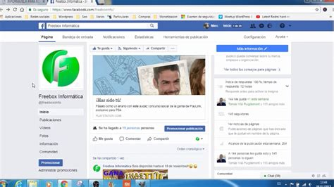 compartir publicaciones de facebook por url youtube
