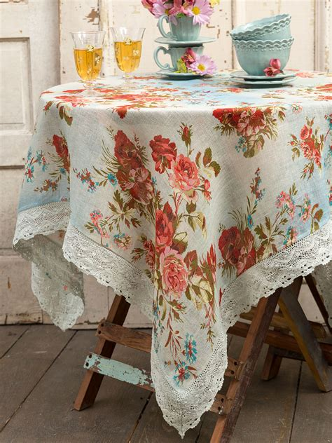 heirloom linen tablecloth kitchen table linens tablecloths designs by april