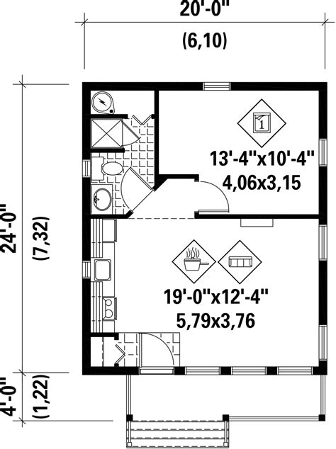 cabin style house plan beds baths sqft plan