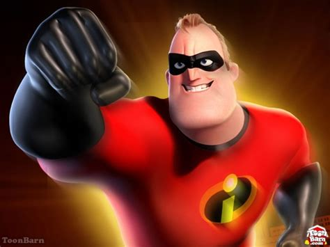 Mr. Incredibles Cartoon Characters Gallery For Kids