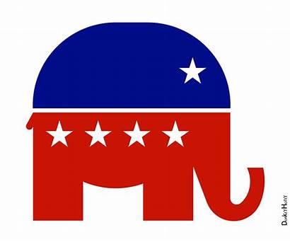 Republican Elephant Icon Flickr